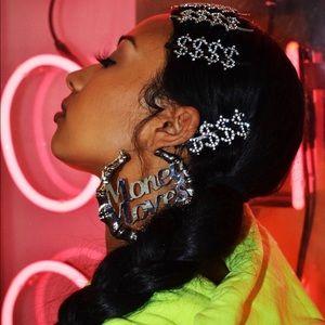 10PCS Word Hair Clip